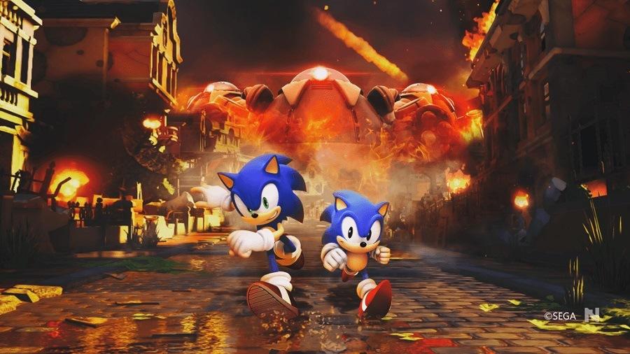 Sonic Forces erizo azulSonic Forces erizo azul tráiler SEGA